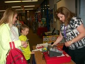 Sales were up for this year's bookfair.