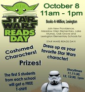Star Wars READS Day - RESCHEDULED!