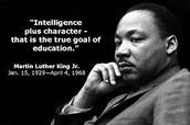 MLK Holiday January 18!