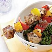 Kebab de porc