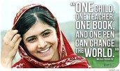 A quote by Malala