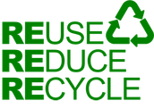 Reuse, Reduce, Recycle!!