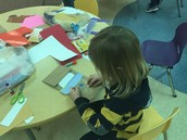 Making Paper Bag Puppets