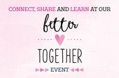 Register today for Better Together field event!