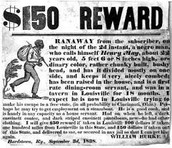 a wanted sign of nat turner