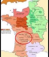 Location of Aquitaine