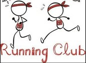Running Club Resumes on January 12th...Tuesdays (As weather permits)