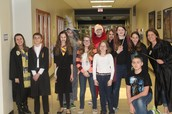 Some of our 7th Graders