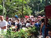 Praça Dom José Gaspar ao som de Na Aba de Jorge