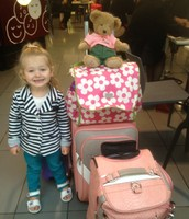 Ruby and Rosie's  luggage