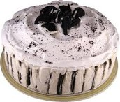 Ice cream cake 60% off originally $25.00 now $10.00