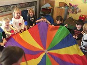 What do you get when you give a happy group of Chipunks a parachute...