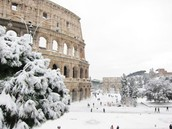 Rome in the Snow!