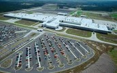 Mercedes Benz Factory in Germany