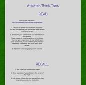 Think Tank Task Sheet