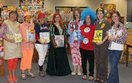 Teachers dressed as their favorite book character!