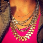 On the Mark (arrow) Necklace $49