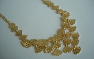 Geneve lace bib necklace - NOW $80