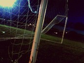 I rather be playing soccer.