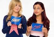 "Ariana on ""Sam &Cat"""
