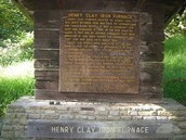 Henry Clay Furnace Sign