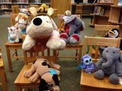 Stuffed Animal Puppet Show