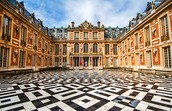 Courtyard of Versailles