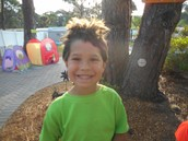 Gavin's wacky Wednesday hair!