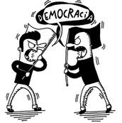 Para parar las discusiones hay que usar la democracia. ☆