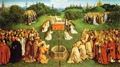 Ghent Altarpiece painted in 1432