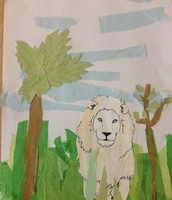 An example of yr2's collage Wistaston Academy.
