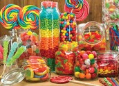Candy to eat