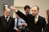 Anders Breivik at trial