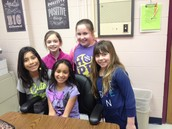Lunch & Sharing Ideas about Washington with 4th Graders