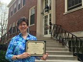 Dr. Palermo receives award for Teaching Innovation and Excellence
