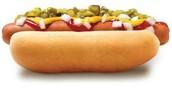 Hot Doug's Had Many Toppings