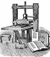 The movable printing press.