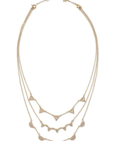 Pavé Chevron Necklace