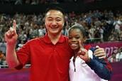 Gabby Douglas and Liang Chow
