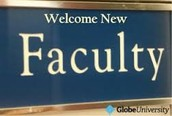 New Faculty Members