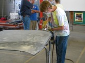 Collision Repair Technology: Jacoby Rice, Instructor