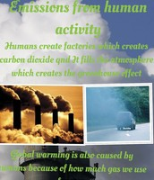 Emissions From Human Activity
