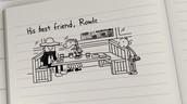 * Losing his friend