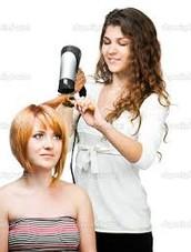 La peluquera