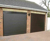 Roller Back Steel Garage Door