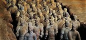 statues of chinese soldiers