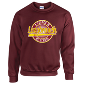 Crewneck Sweatshirt (maroon or black) $18