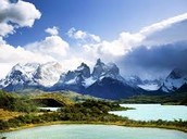 Mountains and Lakes in Chile