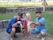 Me iba a pescar con mi papá