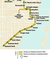 Current Metrorail Map